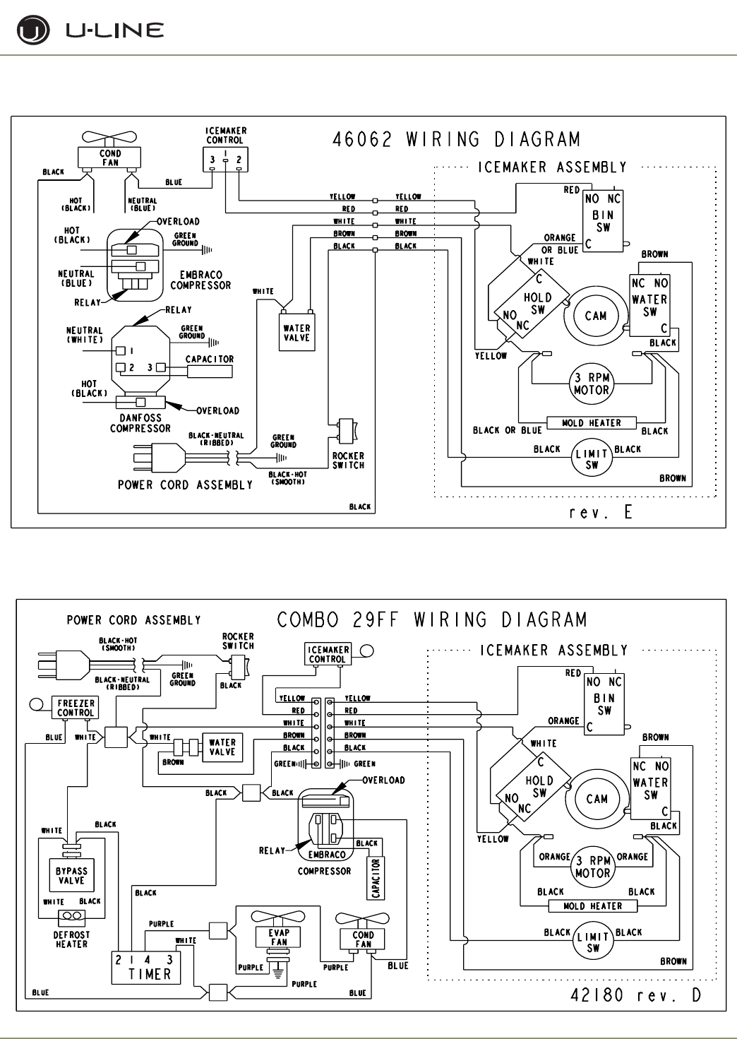 et-3e Uline B Ice Maker Wiring Diagram on