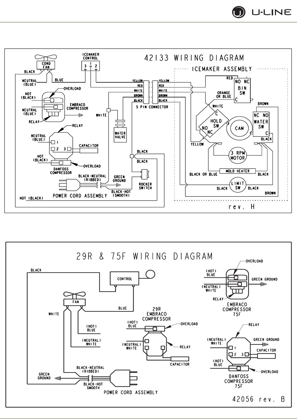 et-3f Uline B Ice Maker Wiring Diagram on