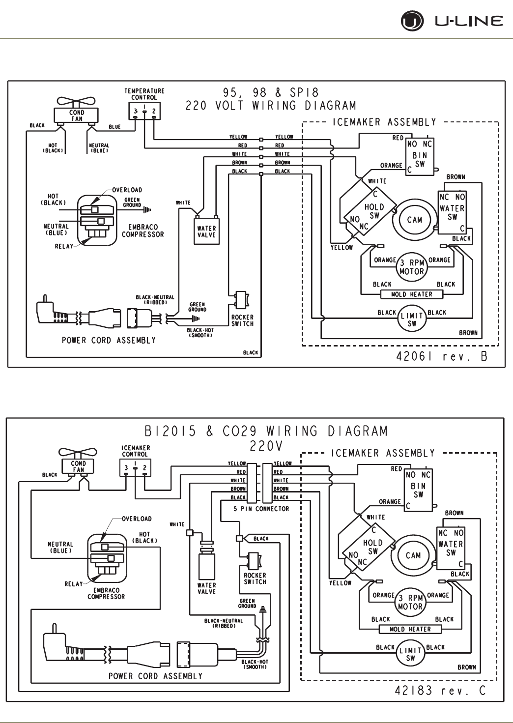 U Line Ice Maker Ada15Im Users Manual Front_Cover_30219 U Line Ice Maker Wiring Diagram on refrigerator wiring diagram, dishwasher wiring diagram, maytag dryer wiring diagram, trash compactor wiring diagram, ice maker schematic diagram, garbage disposal wiring diagram, microwave wiring diagram,
