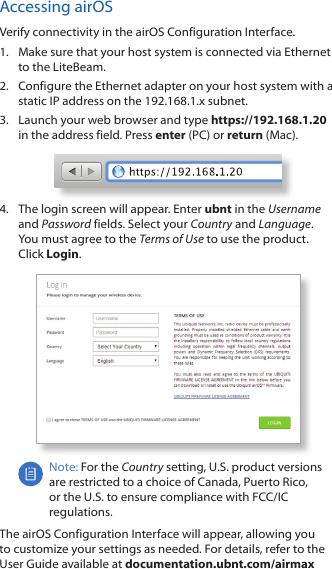 Ubiquiti Networks LBE5M Access Point User Manual LiteBeam