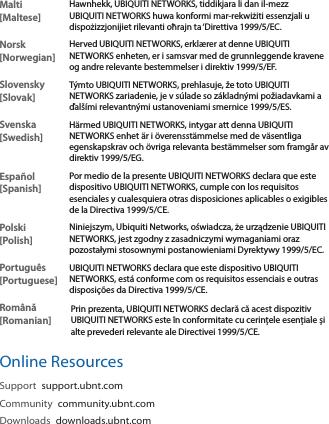 Ubiquiti Networks UAPACLR Access Point User Manual UniFi UAP