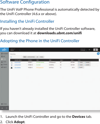 Ubiquiti Networks UVPPRO VOIP PHONE User Manual UniFi VoIP Phone