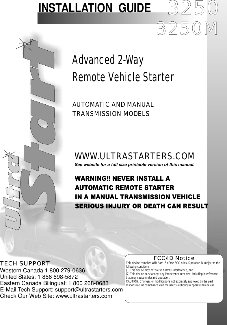ultra start 3250 users manual installweb rh usermanual wiki North Face Ultra Guide GTX Ultra Book