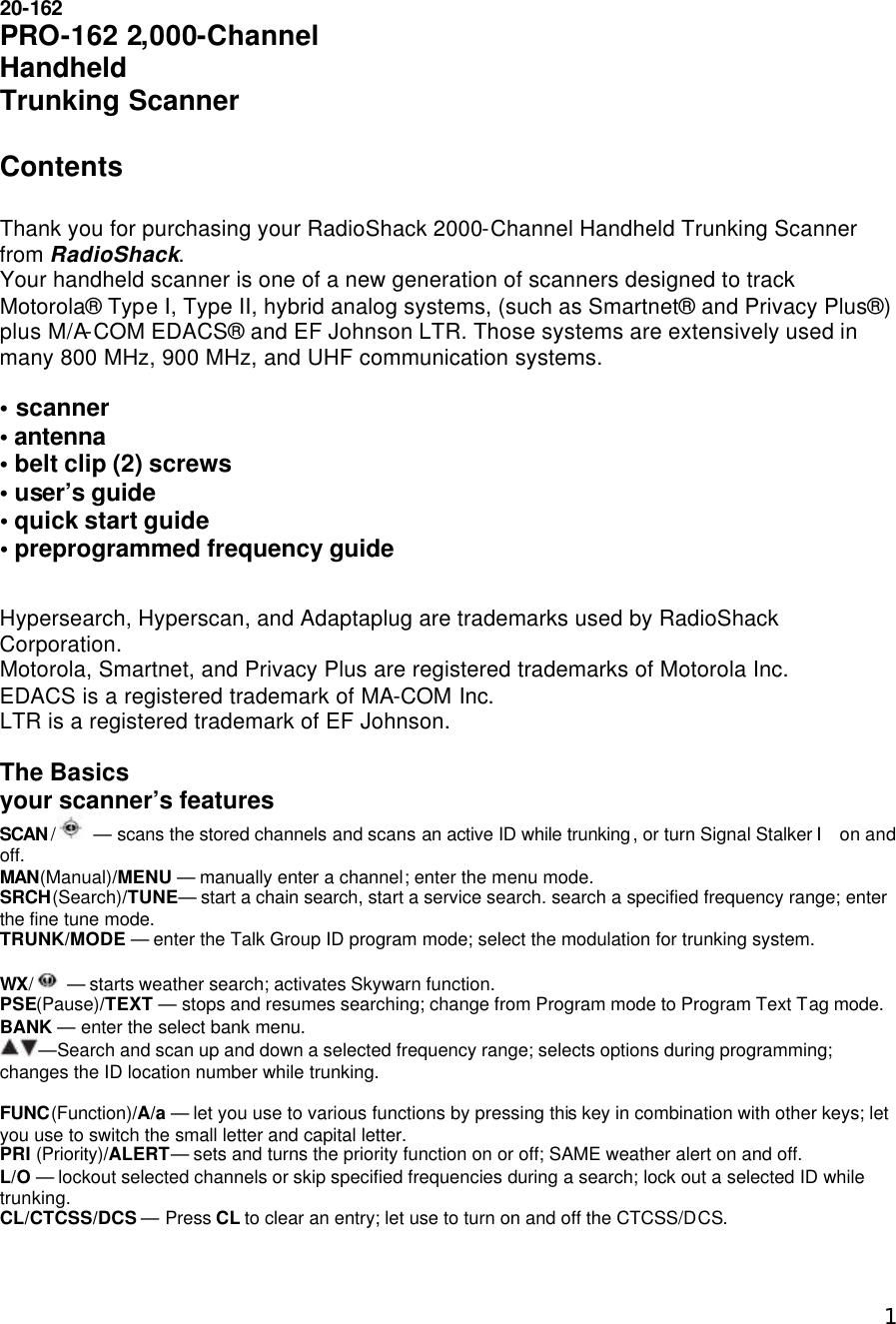 Uniden America Ub350 Handheld Scanner User Manual Oml Amwub350