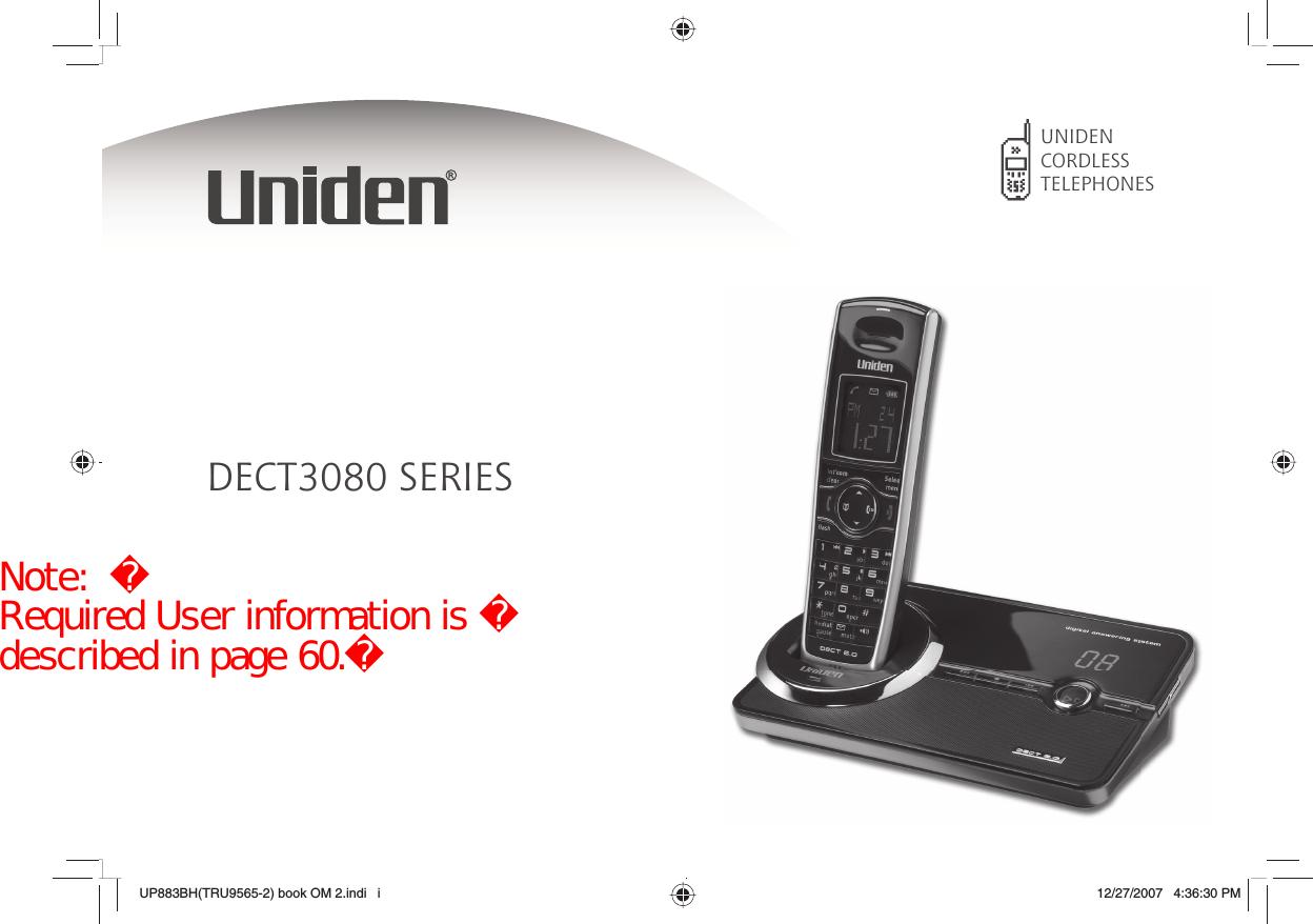 uniden america uc518r 1 9ghz upcs cordless telephone handset user rh usermanual wiki uniden telephone user manual uniden telephone user manual
