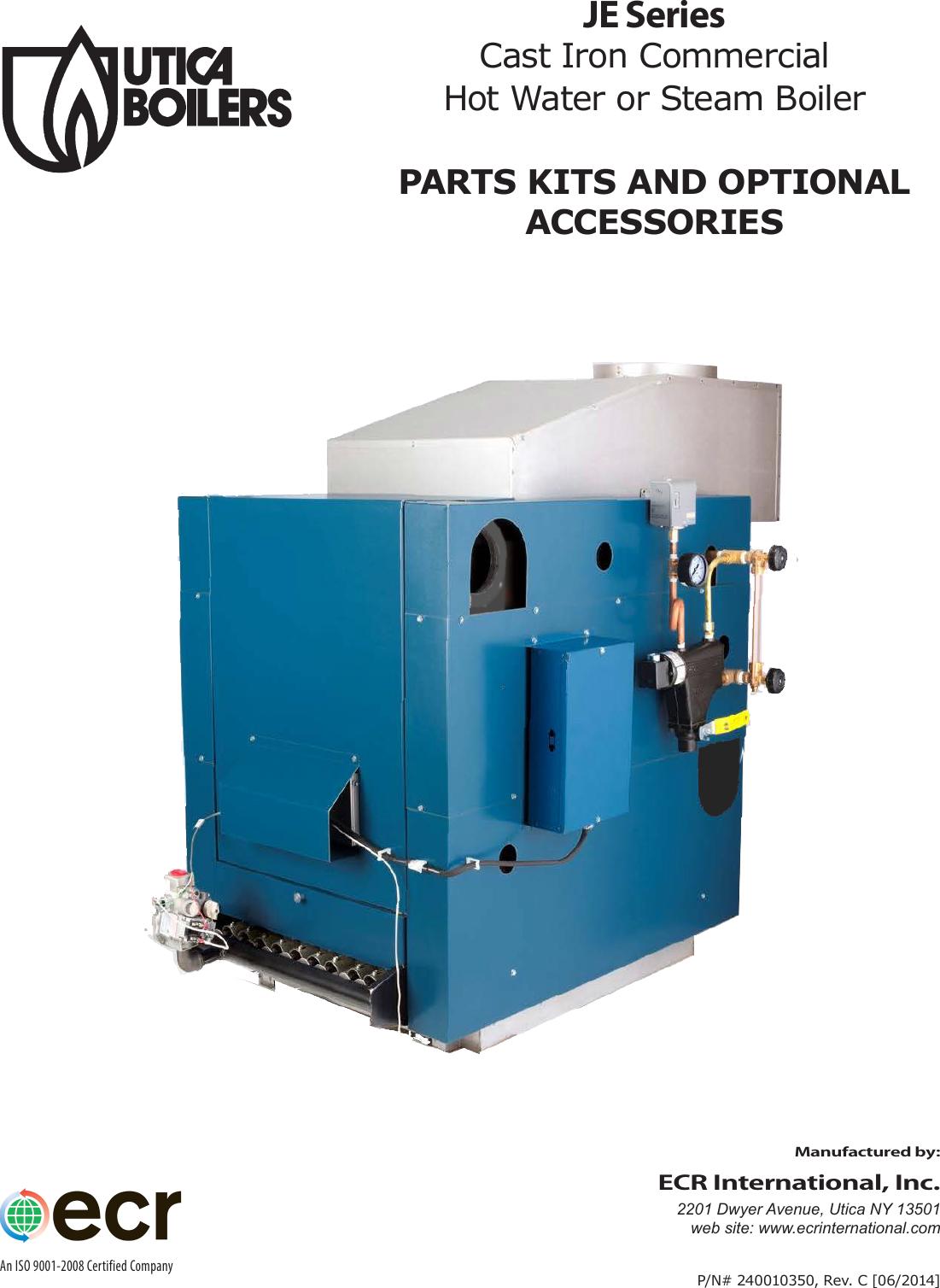 Utica Boilers Je Parts List