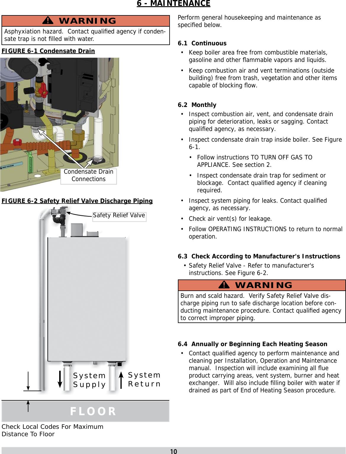 Utica Boilers Ssc Users Manual 240008984 REV D