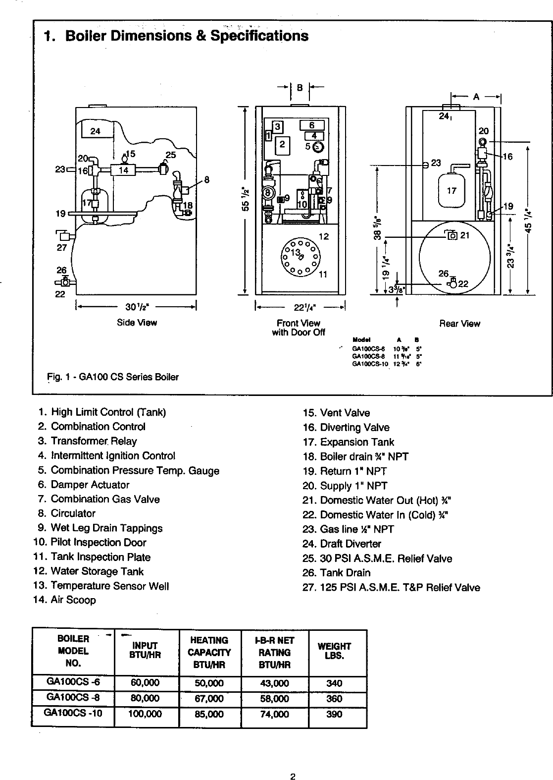 Vaillant Boiler Manual 98110066 Gas Vent Damper Wiring Diagrams Page 2 Of 12