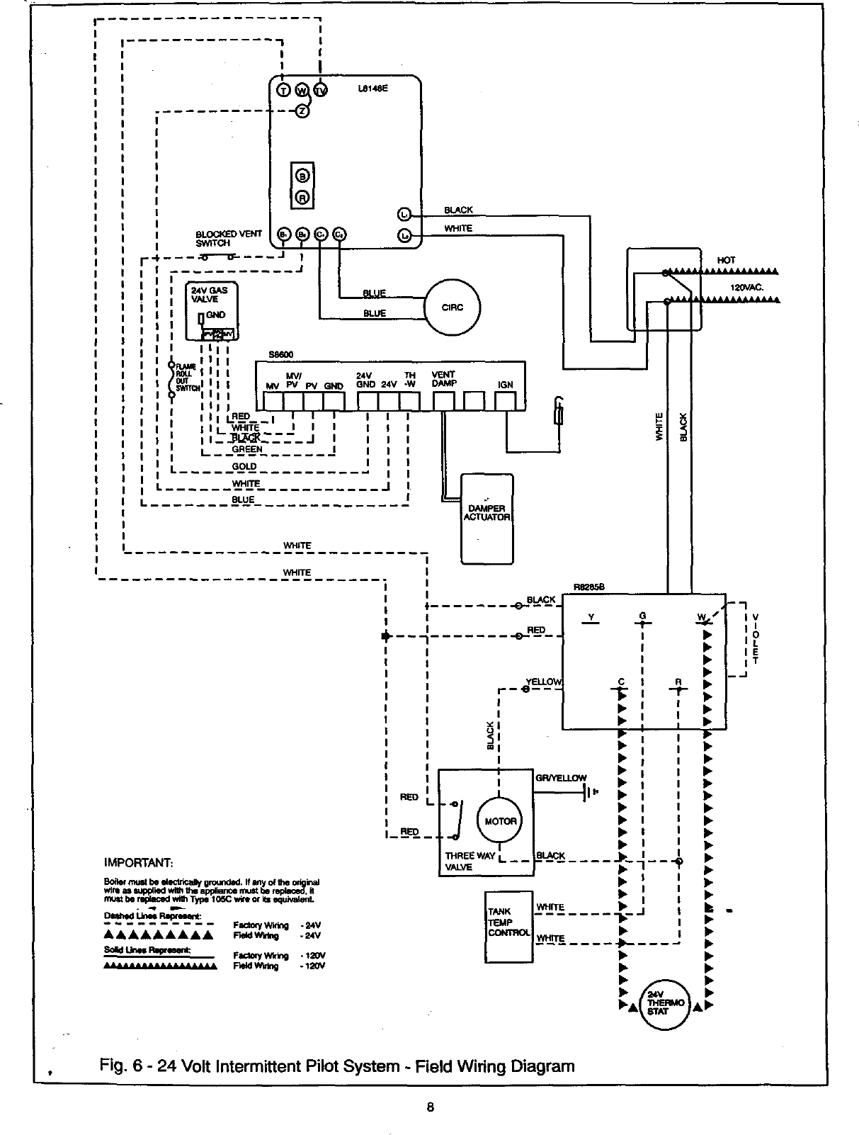 Vaillant Boiler Manual 98110066 System Wiring Diagram Page 8 Of 12