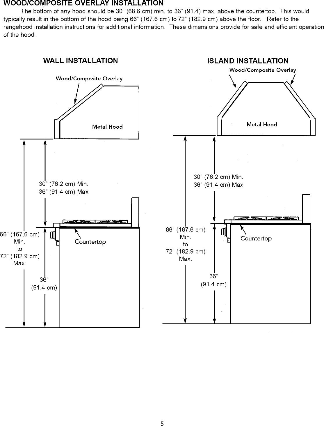VIKING RANGE CORP. Counter Unit, Gas Manual L0412481