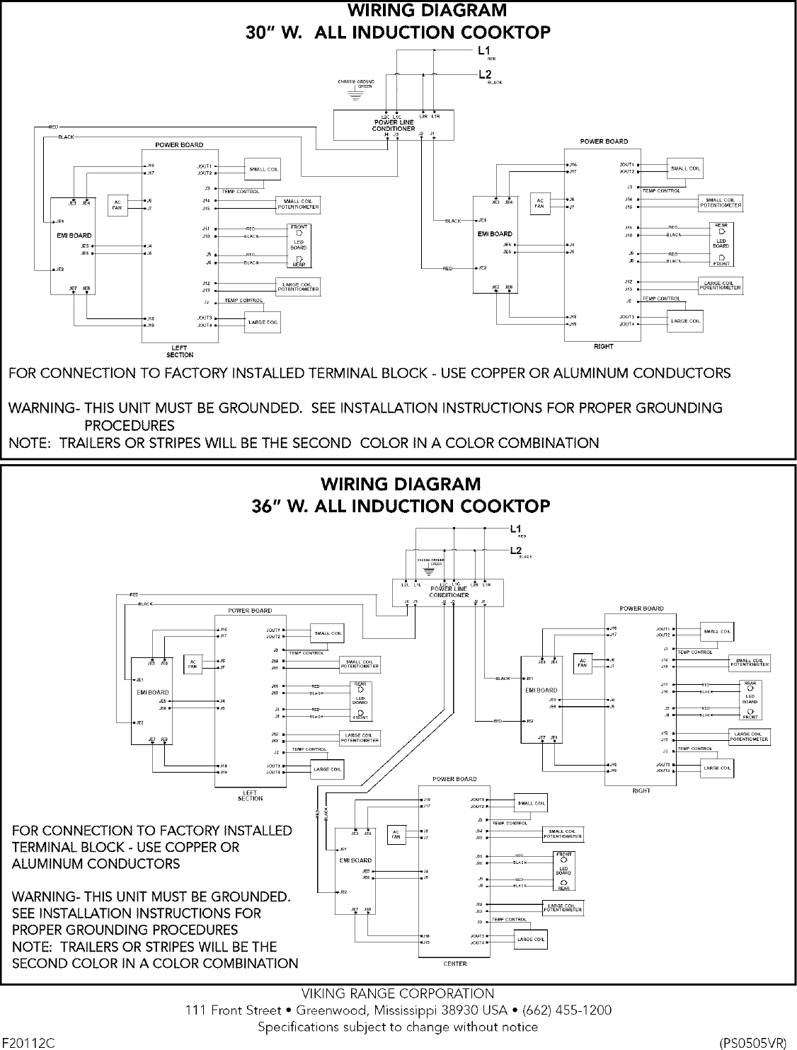 Viking Range Corp Built In Oven Electric Manual L0523325 Trailer Wiring Diagram Page 12 Of
