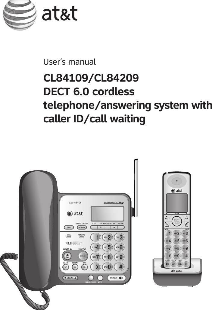 Vtech Telecommunications 80 6554 00 19ghz Cordless Phone Base User
