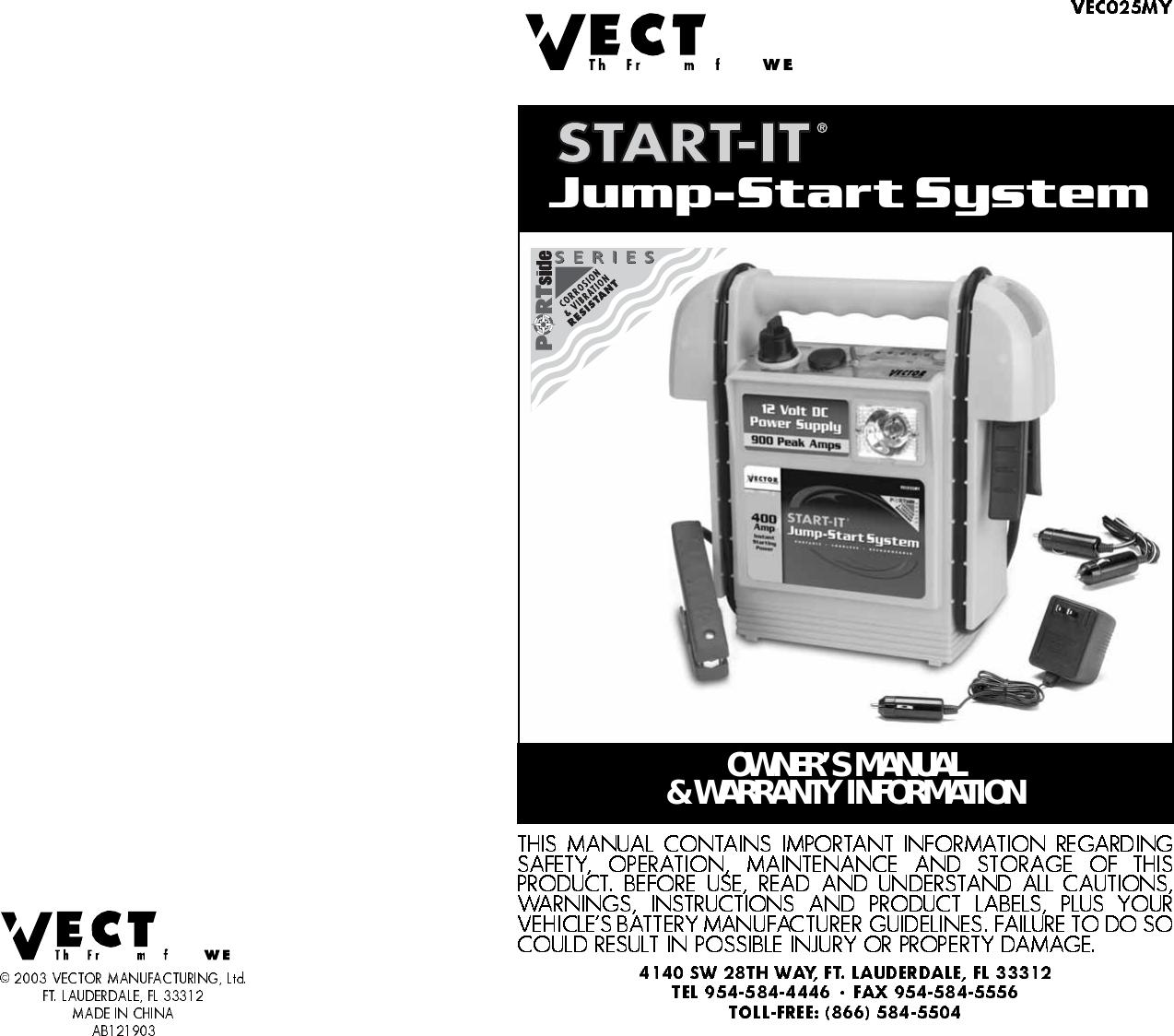 vector start it ab121903 users manual rh usermanual wiki Jump Manual Workout Chart Jump Manual PDF