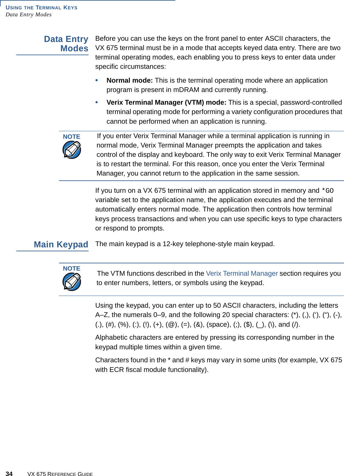 Verifone VX675WCDMA Point of Sale Terminal User Manual