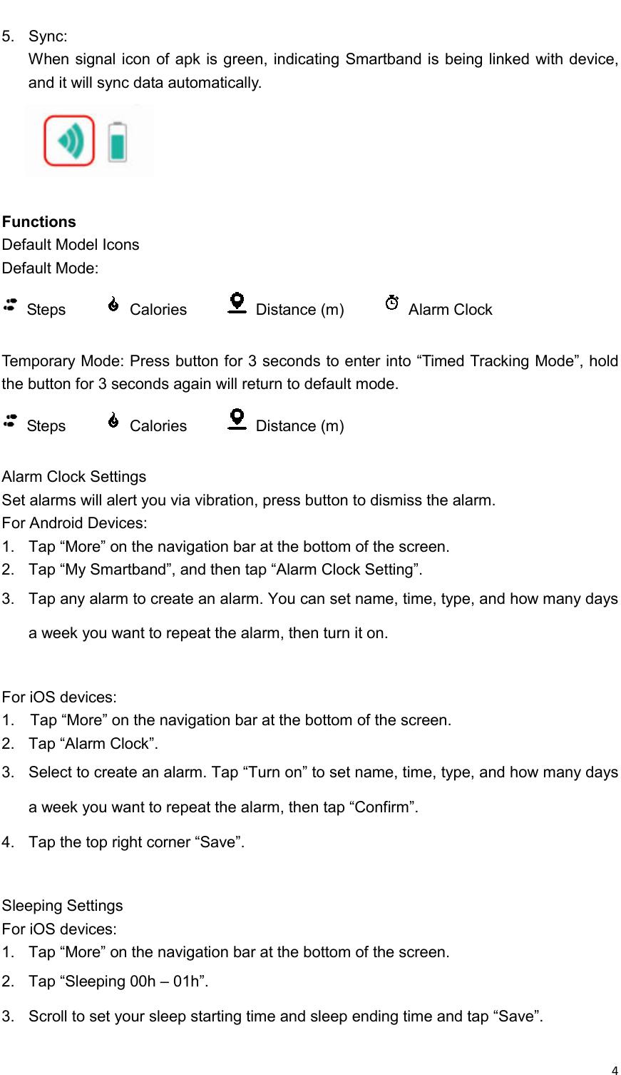 Vidonn Smartband X6 Instruction Manual X6用户手册_英文20150206