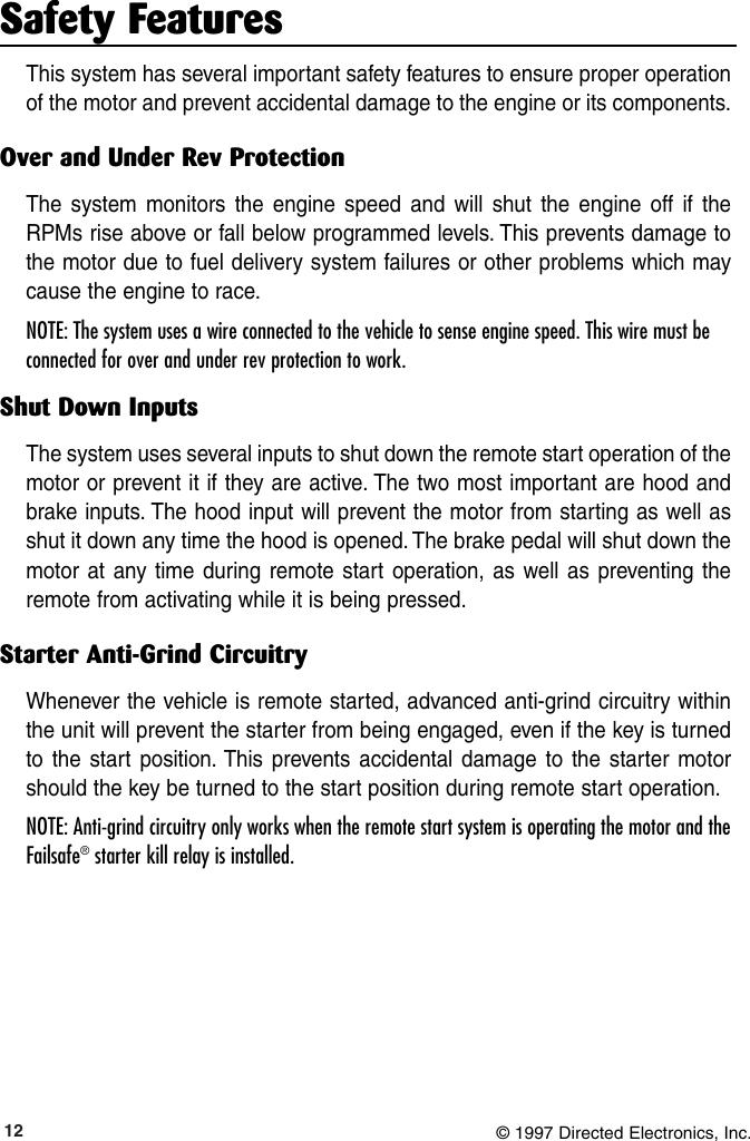 Viper 550Hf Users Manual