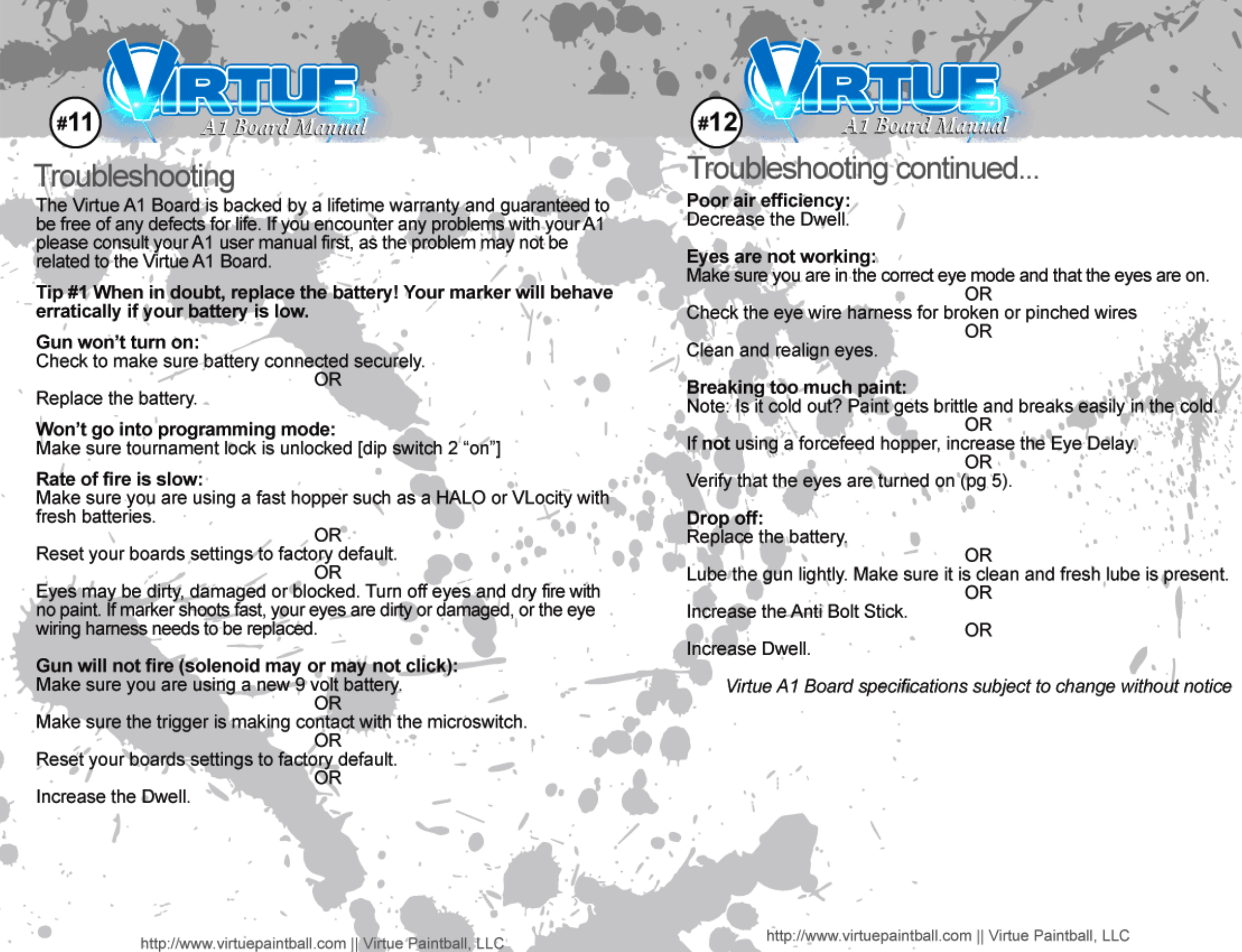 Virtue A1 Board Users Manual 5 9 Wiring Harness Diy Page 8 Of