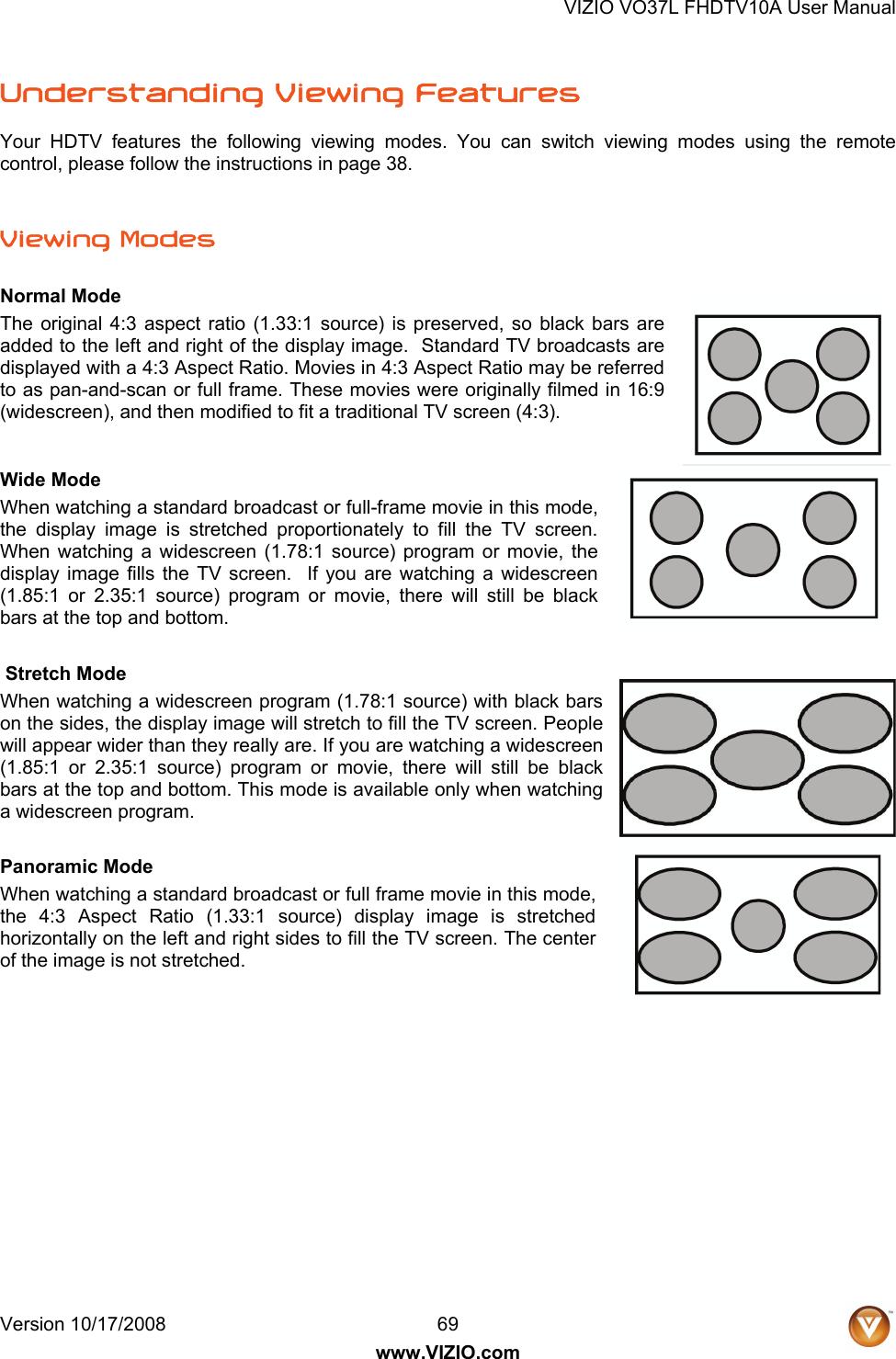 Vizio Vo37L Fhdtv10A Users Manual 08 1712_VO37LFHDTV10A DB User