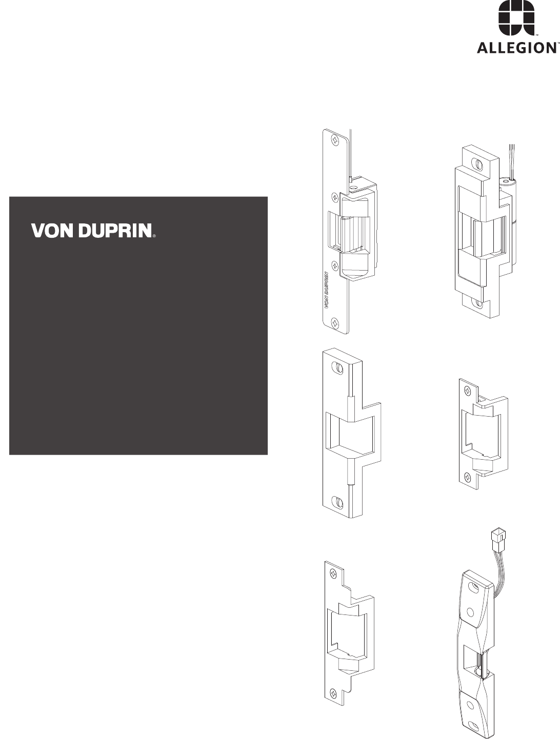 Von Duprin 5100/6100/6200/6300 Series Electric Strikes Parts Manual 108727   Von Duprin 6300 Wire Diagram      UserManual.wiki