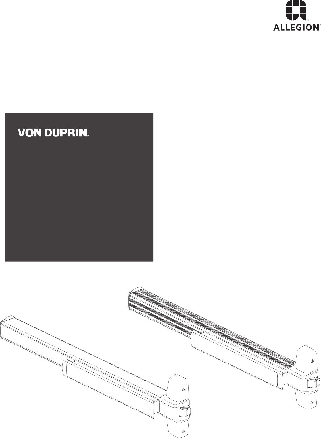 von duprin parts manual wiring diagram