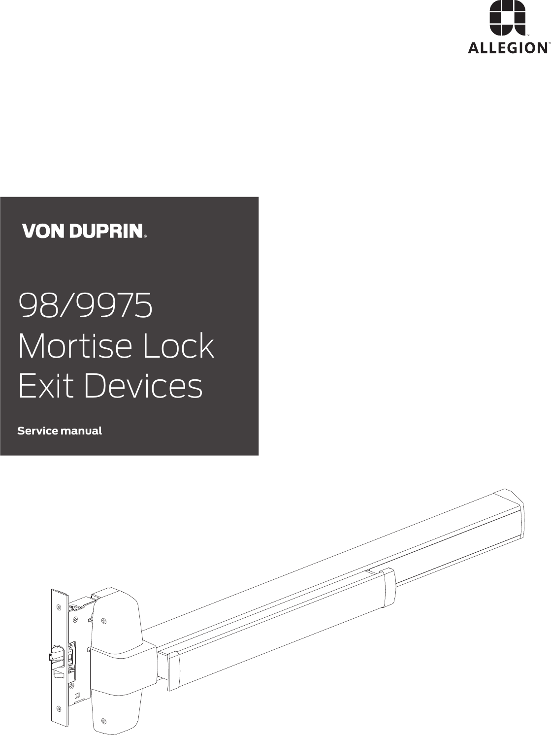 Von Duprin 050490 CD//SS Cylinder Locating Washer Package