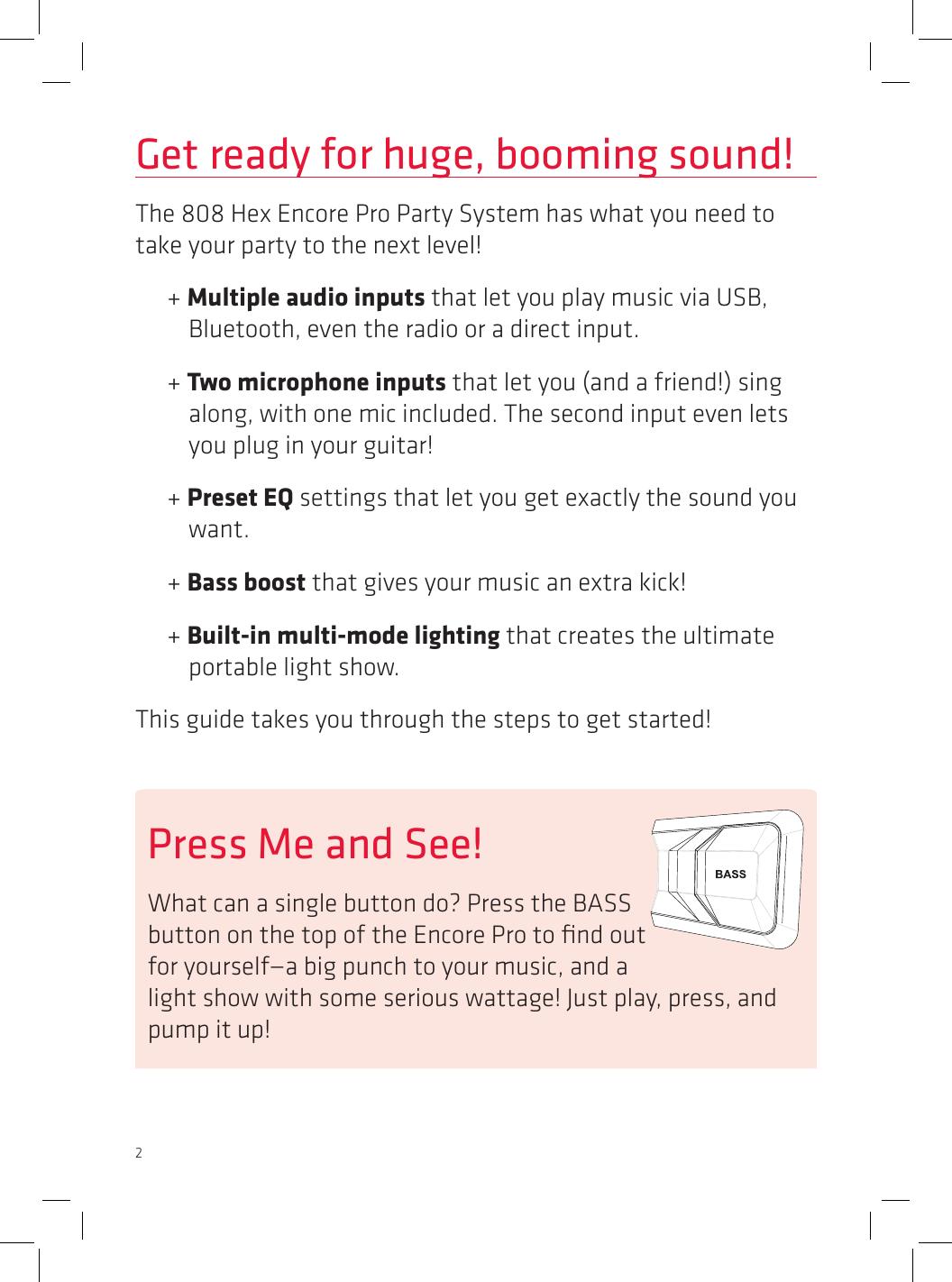 Voxx Accessories SP491 Wireless Speaker User Manual