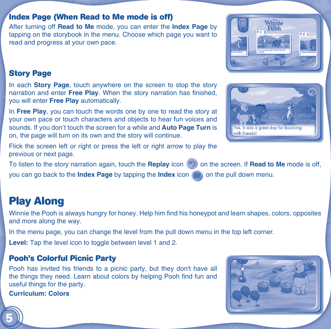 Vtech Innotab Software Winnie The Pooh Owners Manual