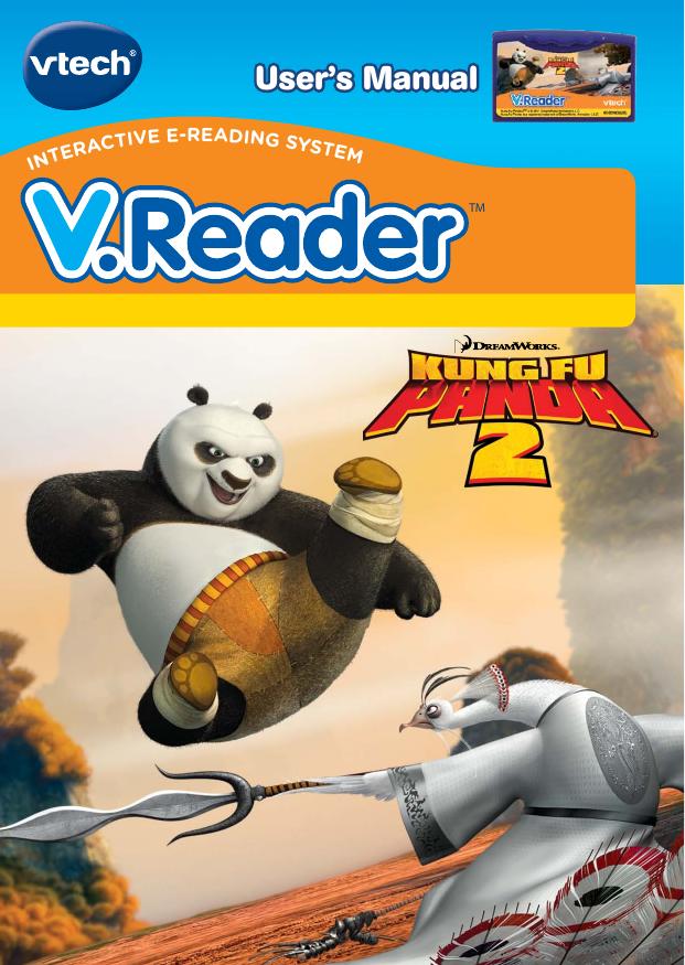 Vtech V Reader Cartridge Kung Fu Panda 2 Owners Manual