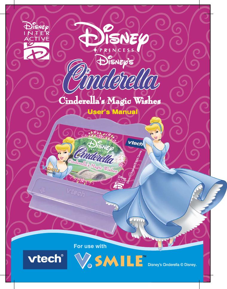 Vtech V Smile Cinderellas Magic Wishes Owners Manual V Smile