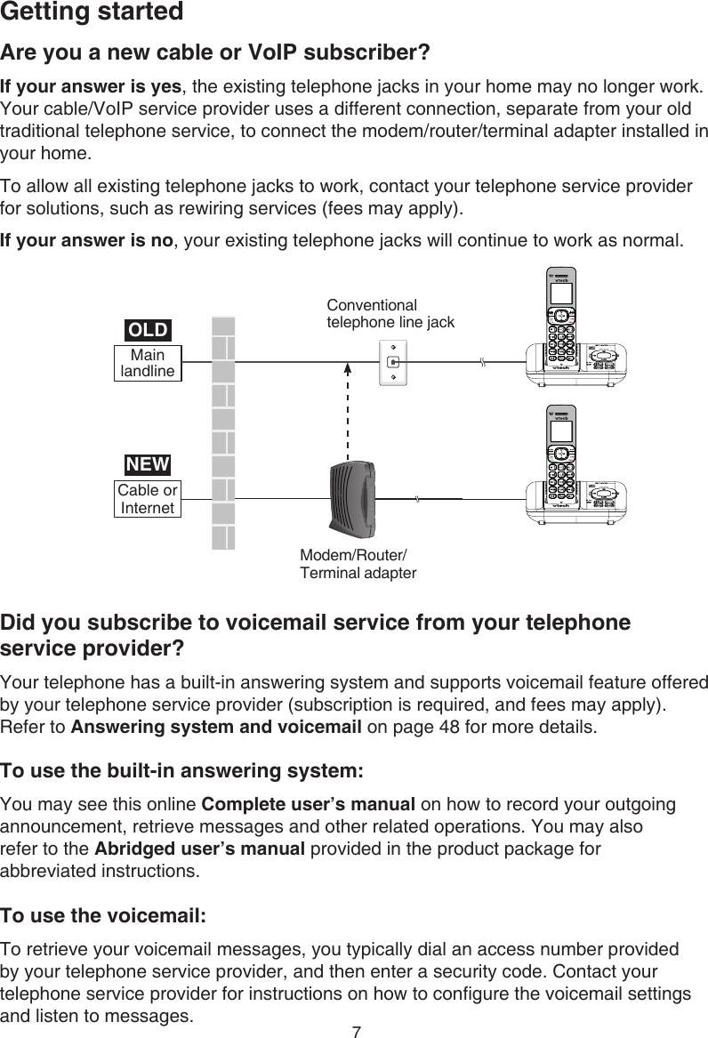 Vtech Cordless Telephone Cs6529 Users Manual