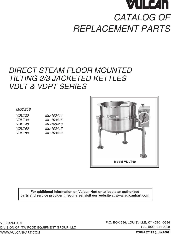 Vulcan Hart 00-836952 Spring Tension Pin