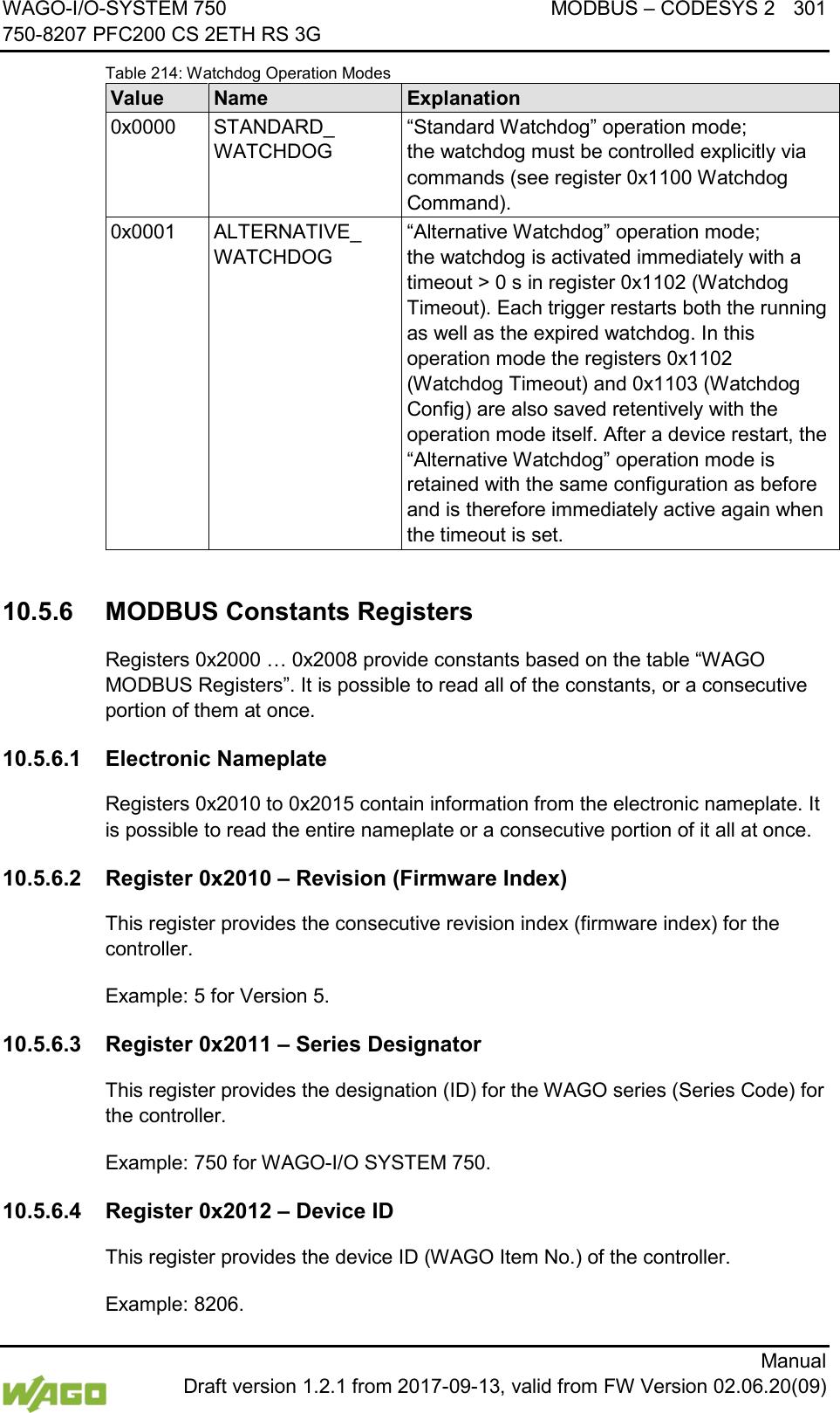 WAGO Kontakttechnik and KG PFC200 3G PLC Controller User