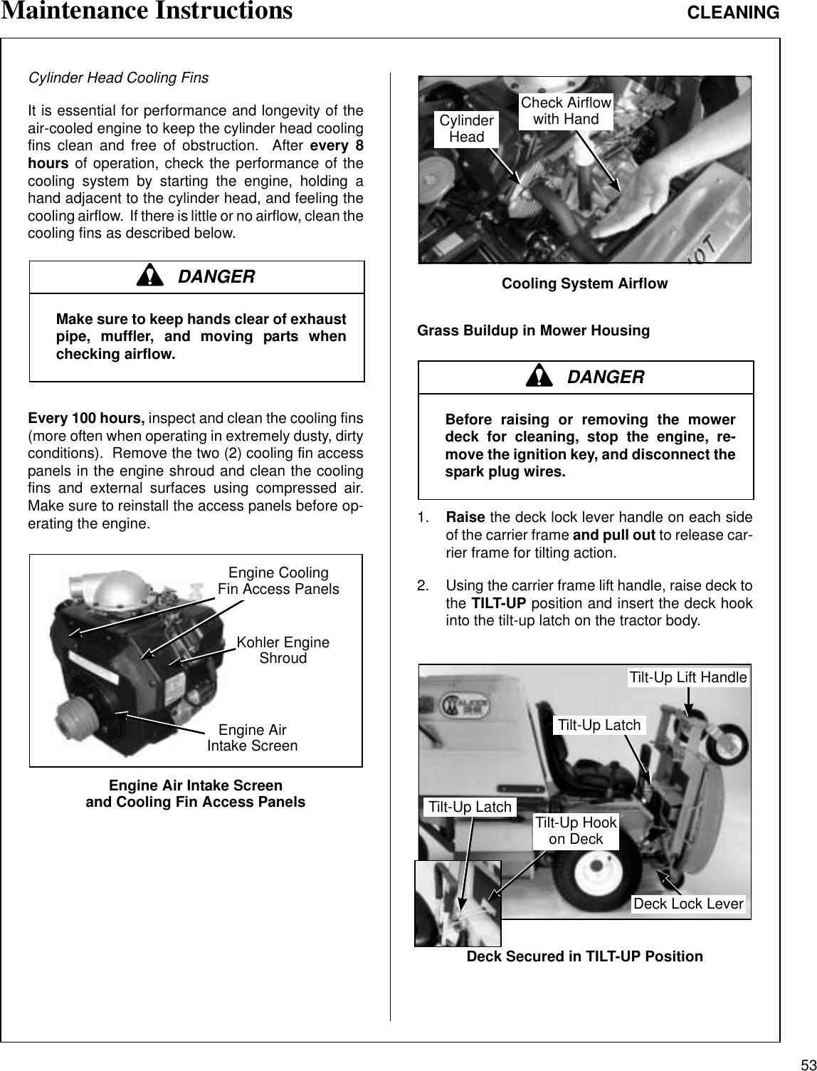 Walker Mc 18 Hp Users Manual