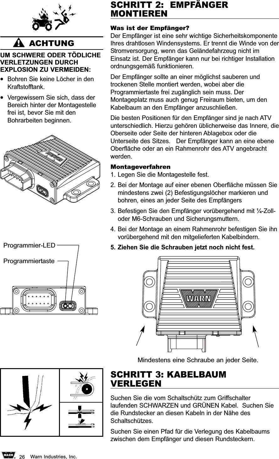 Großzügig 8274 Warn Winde Schaltplan Galerie - Verdrahtungsideen ...