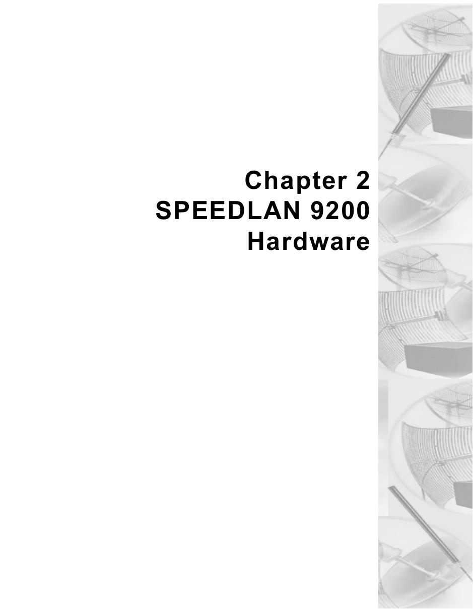 Chapter 2SPEEDLAN 9200Hardware