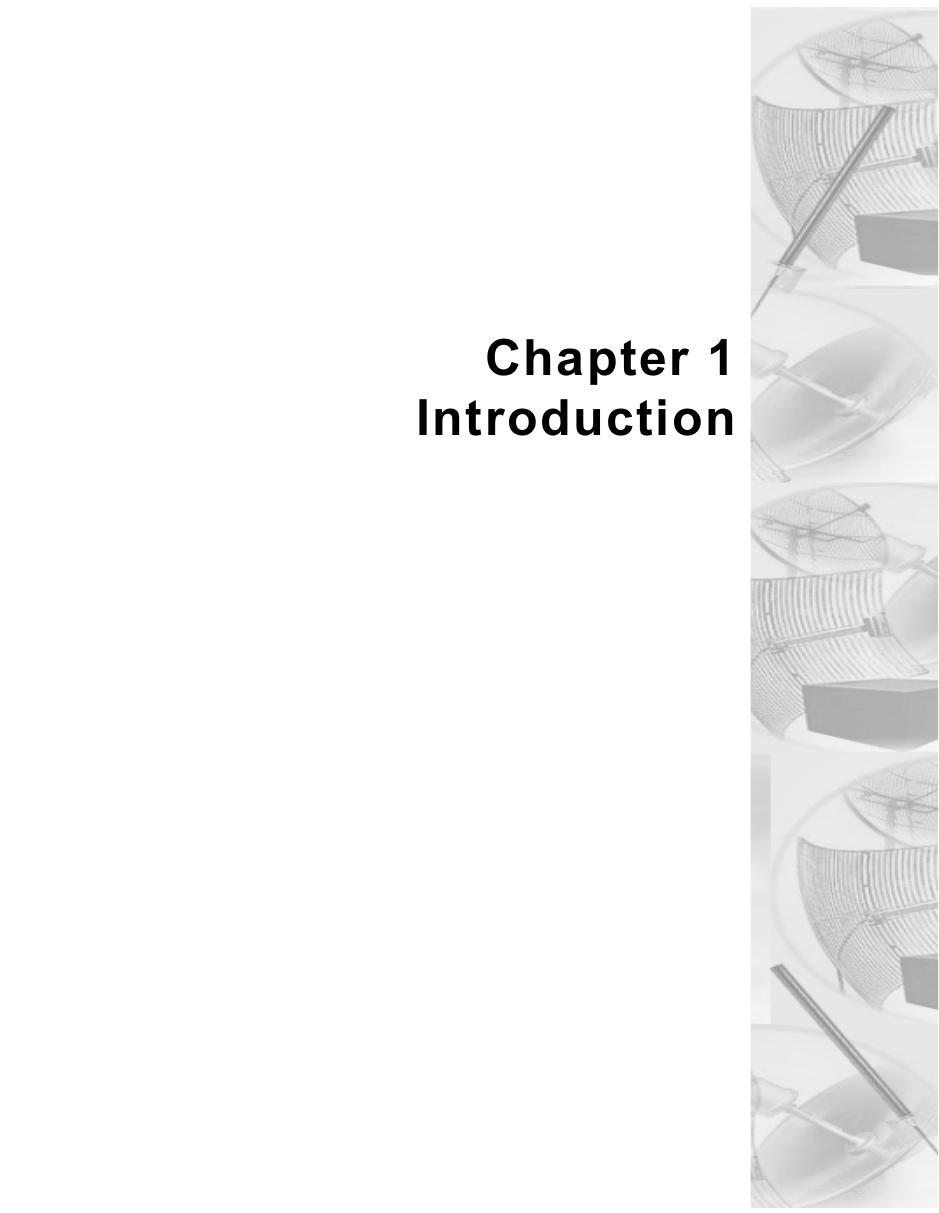 Chapter 1Introduction