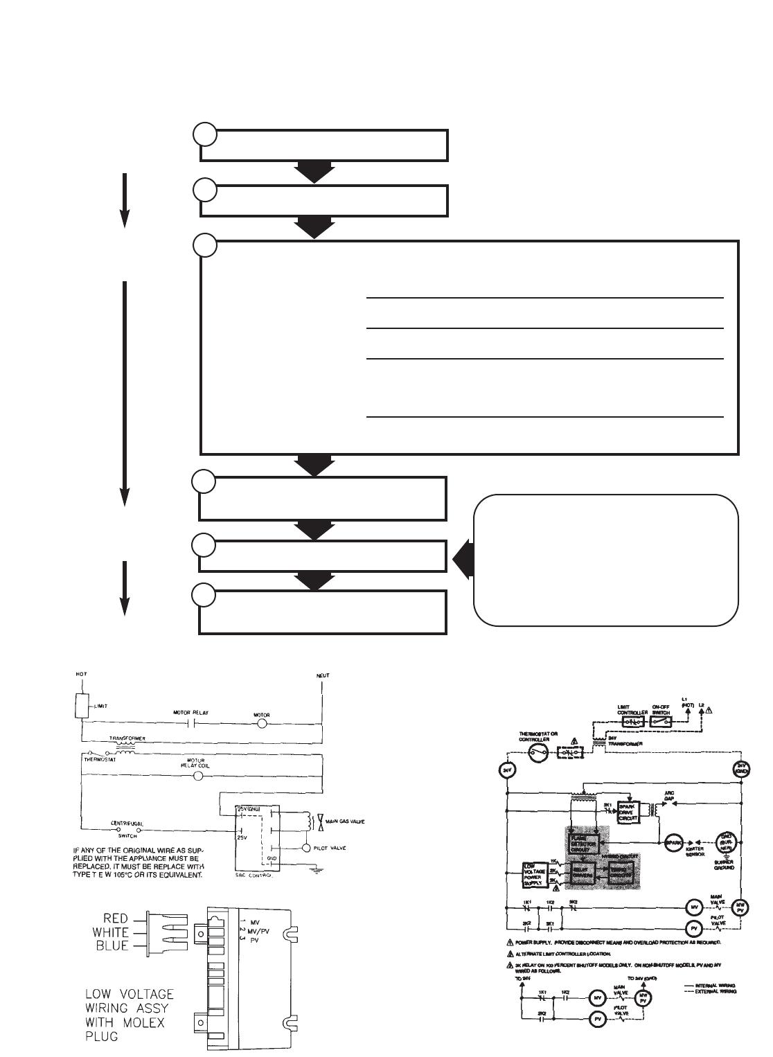 Wayne P250af Users Manual P250 265 Gas Burner Pump Wiring Diagram 14