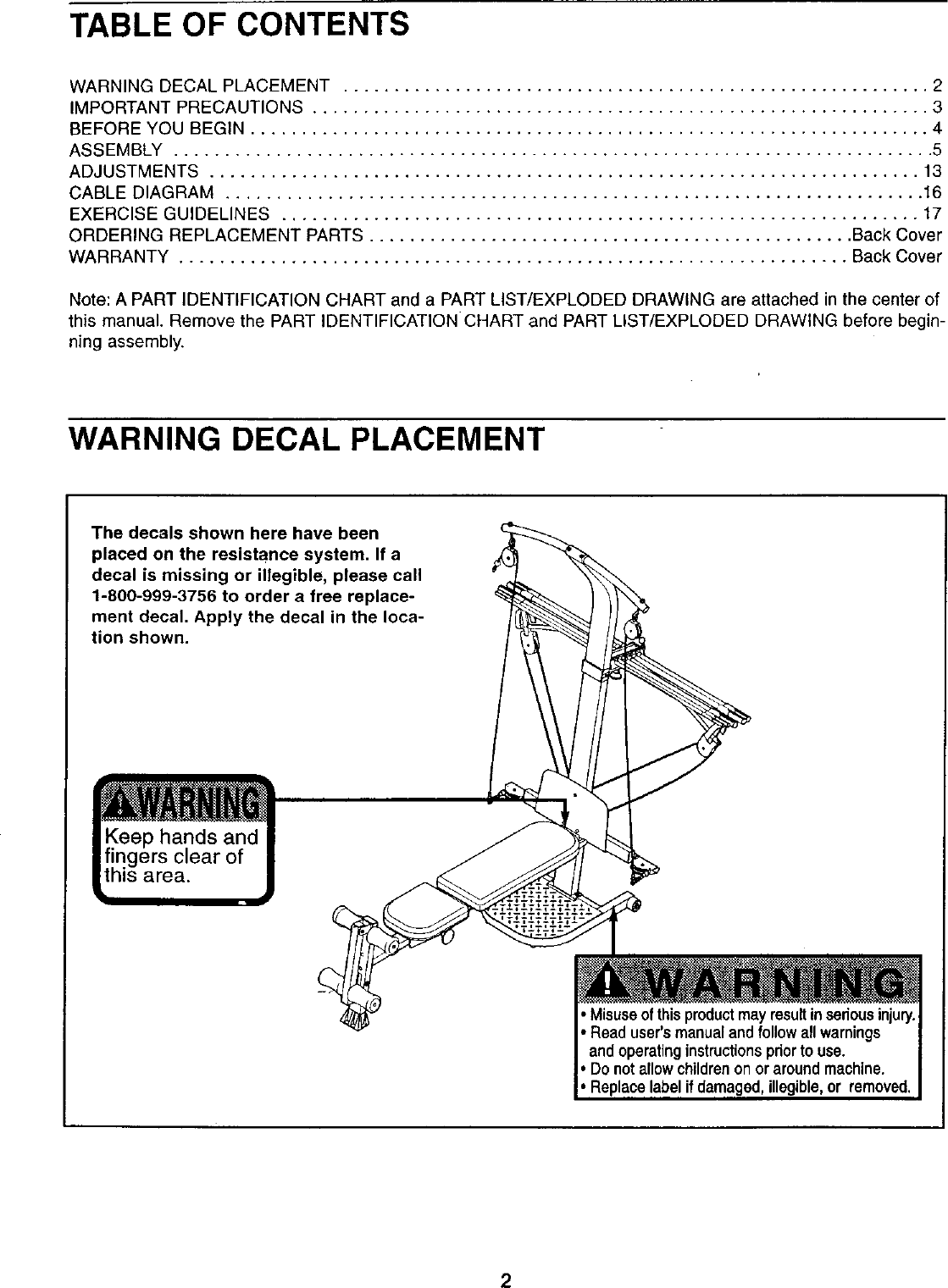 Weider crossbow advantage users manual manualslib makes it easy to.