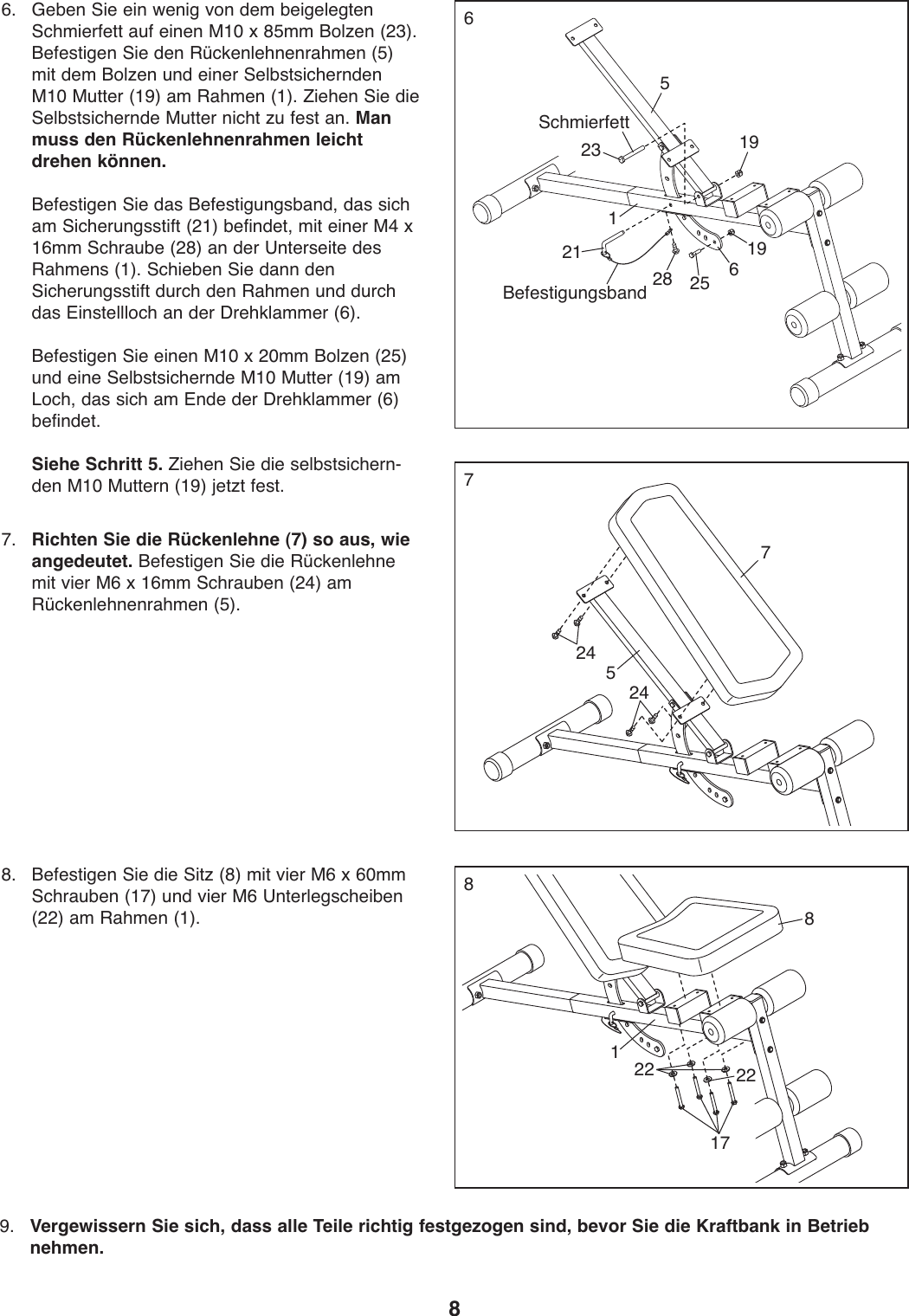 Weider Tc 150 Bench Weevbe5909 Users Manual