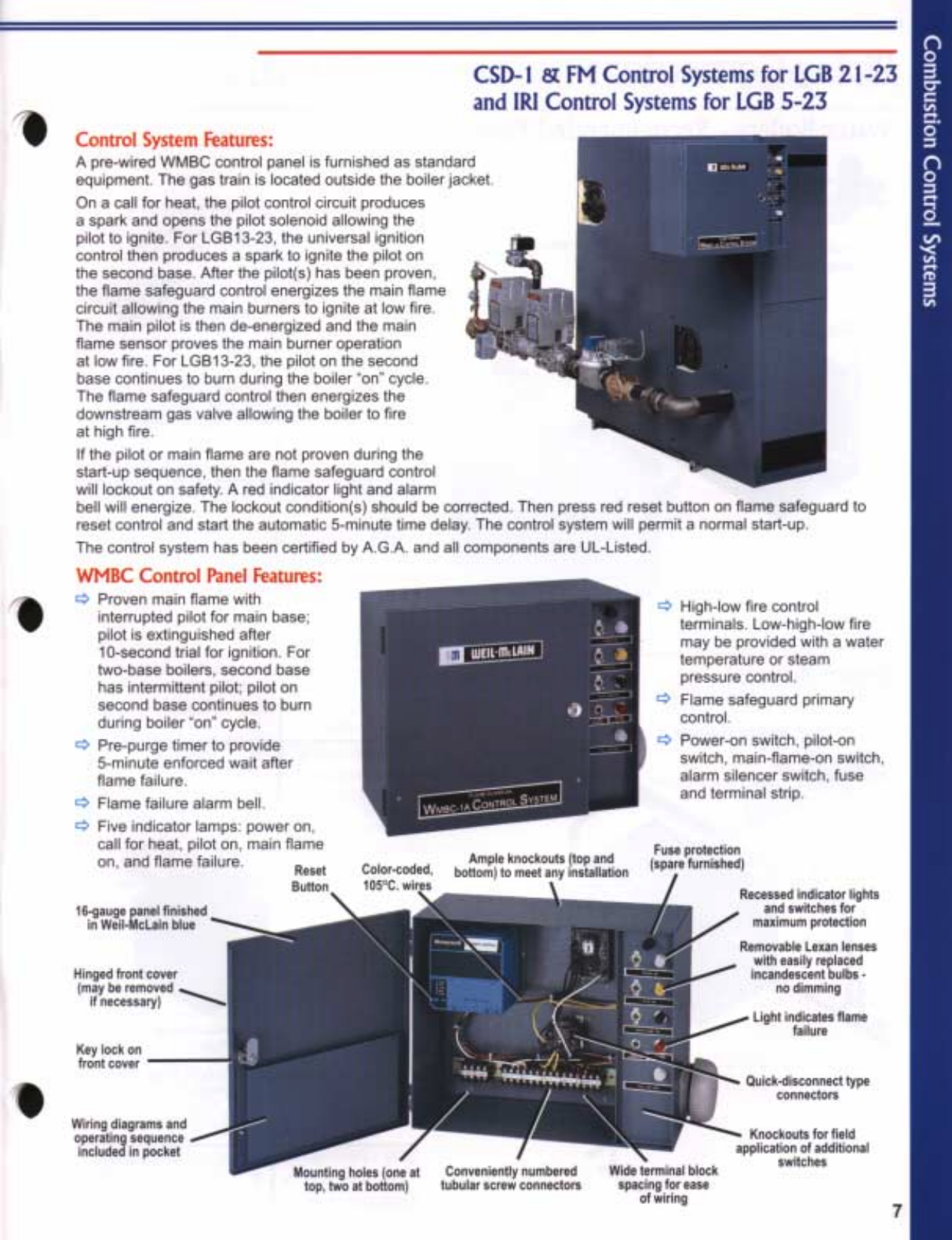 Weil Mclain Lgb Series 2 Users Manual Wiring Diagram Page 7 Of 12