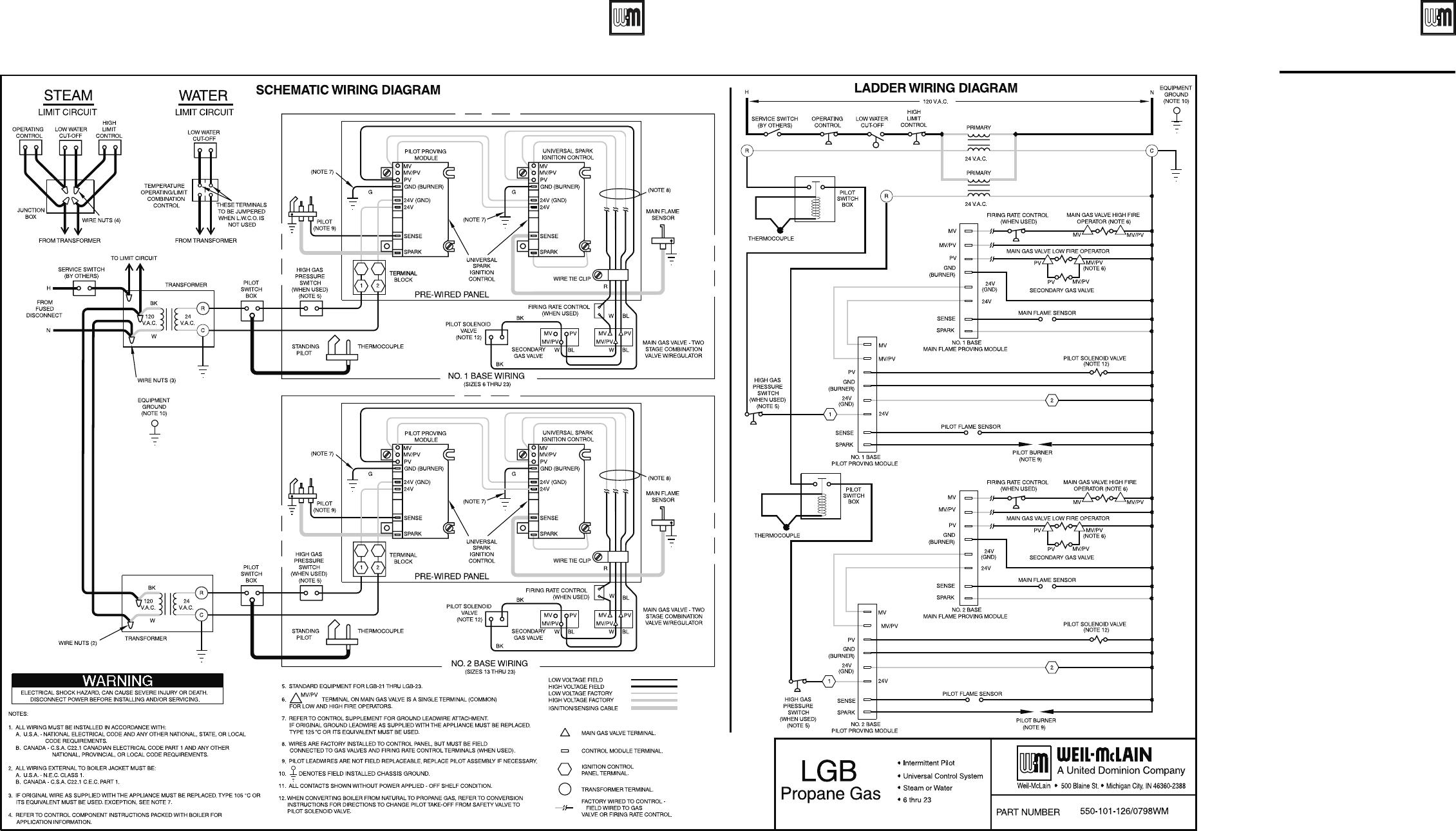 Weil Mclain Series 2 Lgb 10 Users Manual 141797 P65