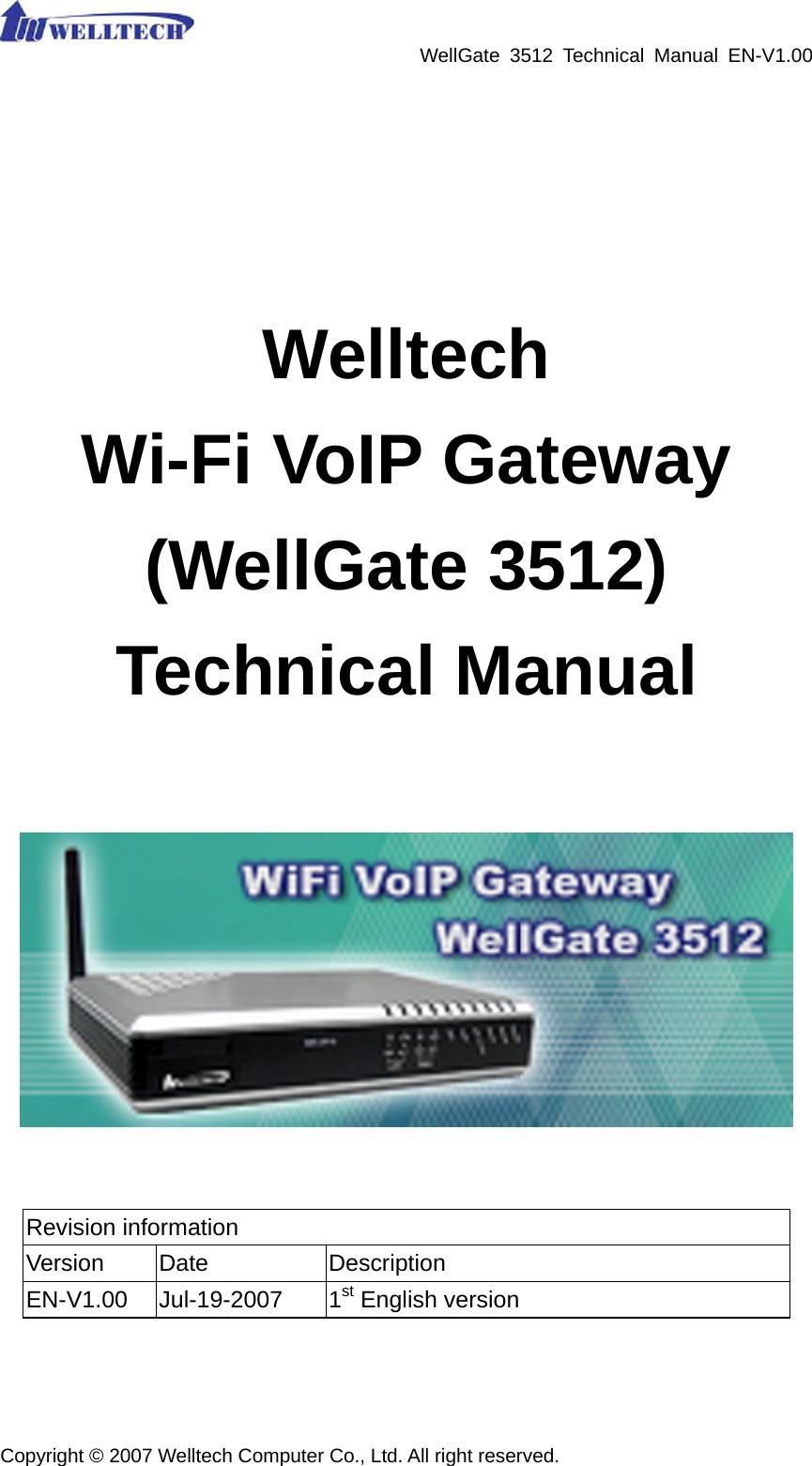 welltech computer wg3512 gateway user manual wg3512 um en v1 00 rh usermanual wiki Gateway Camera Manual Gateway Camera Manual