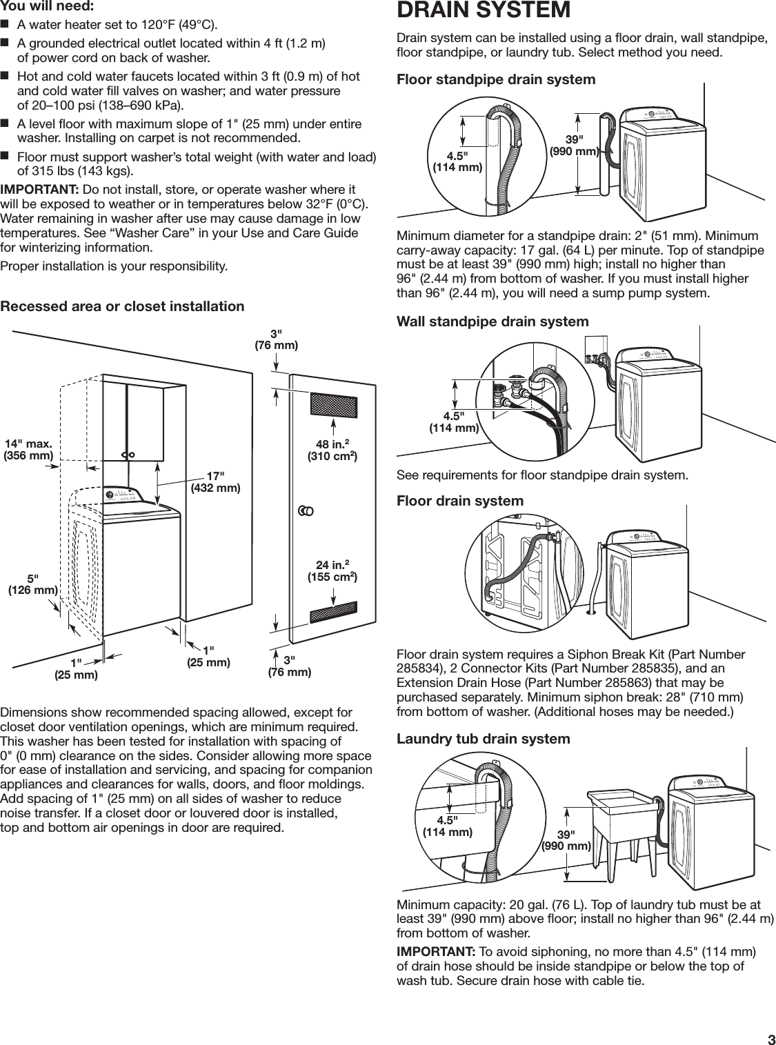 Whirlpool 2dwtw4845ew1 User Manual Washer Manuals And Guides 1707509l Schematic Page 3 Of 8
