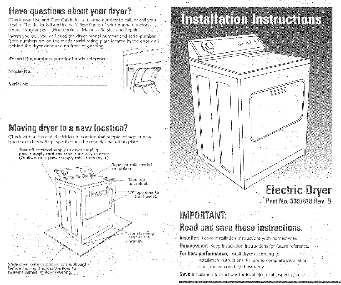 Whirlpool Leq8000jq0 User Manual Dryer Manuals And Guides L0401388 Schematic