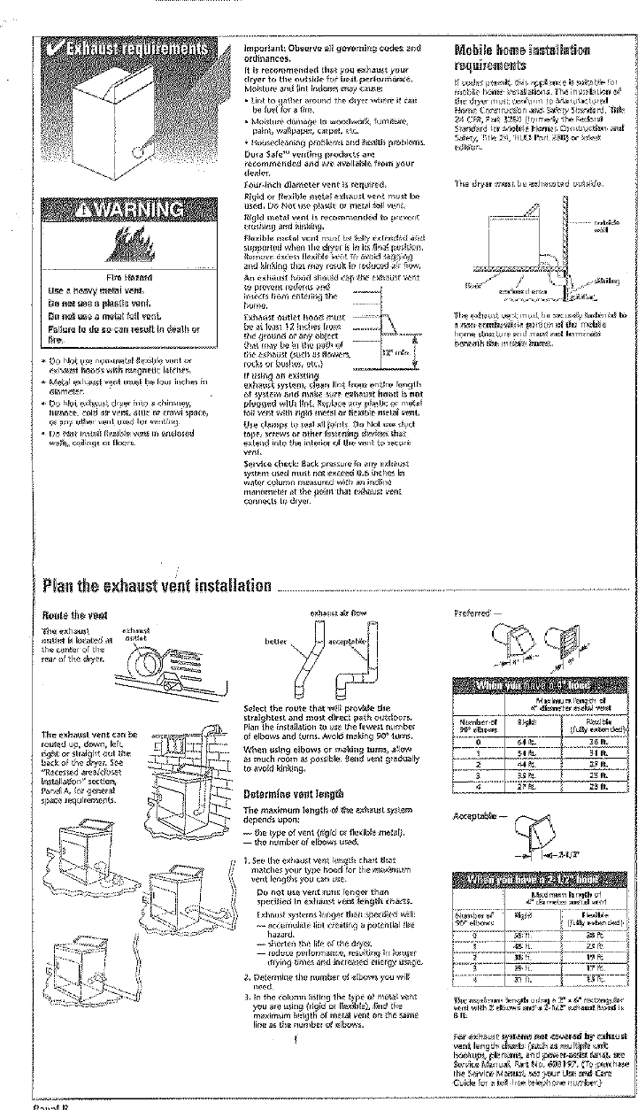 Whirlpool Leq8000jq0 User Manual Dryer Manuals And Guides L0401388 Schematic Page 3 Of 9