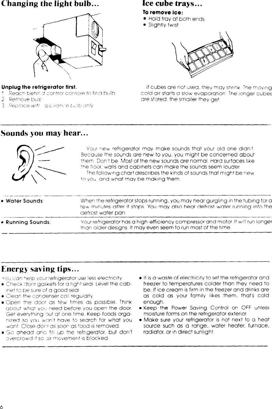 Whirlpool Et12Dc Users Manual Unknown