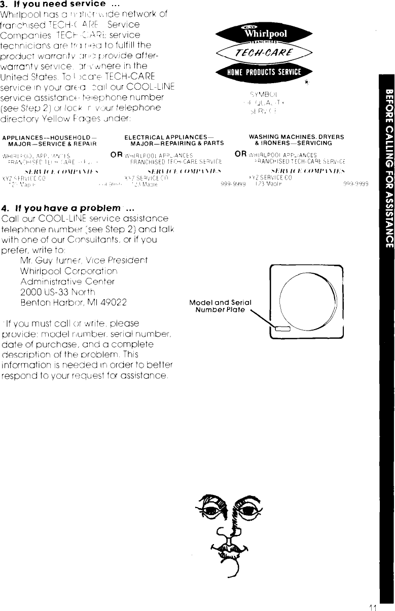 Whirlpool Le9800xk Users Manual Washing Machine Repair Diagram View Page 11 Of 12