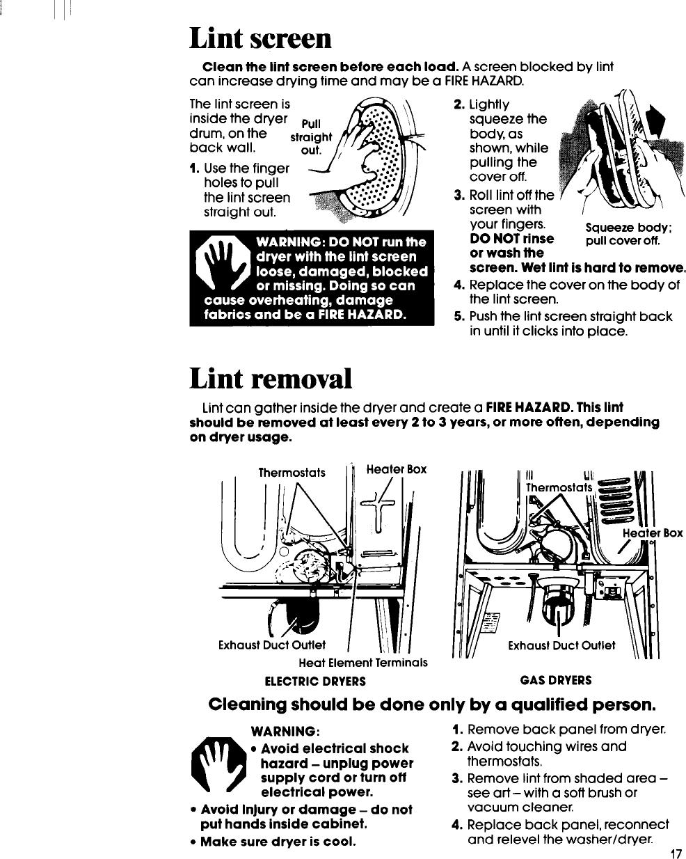 Whirlpool Lt5000Xs Users Manual