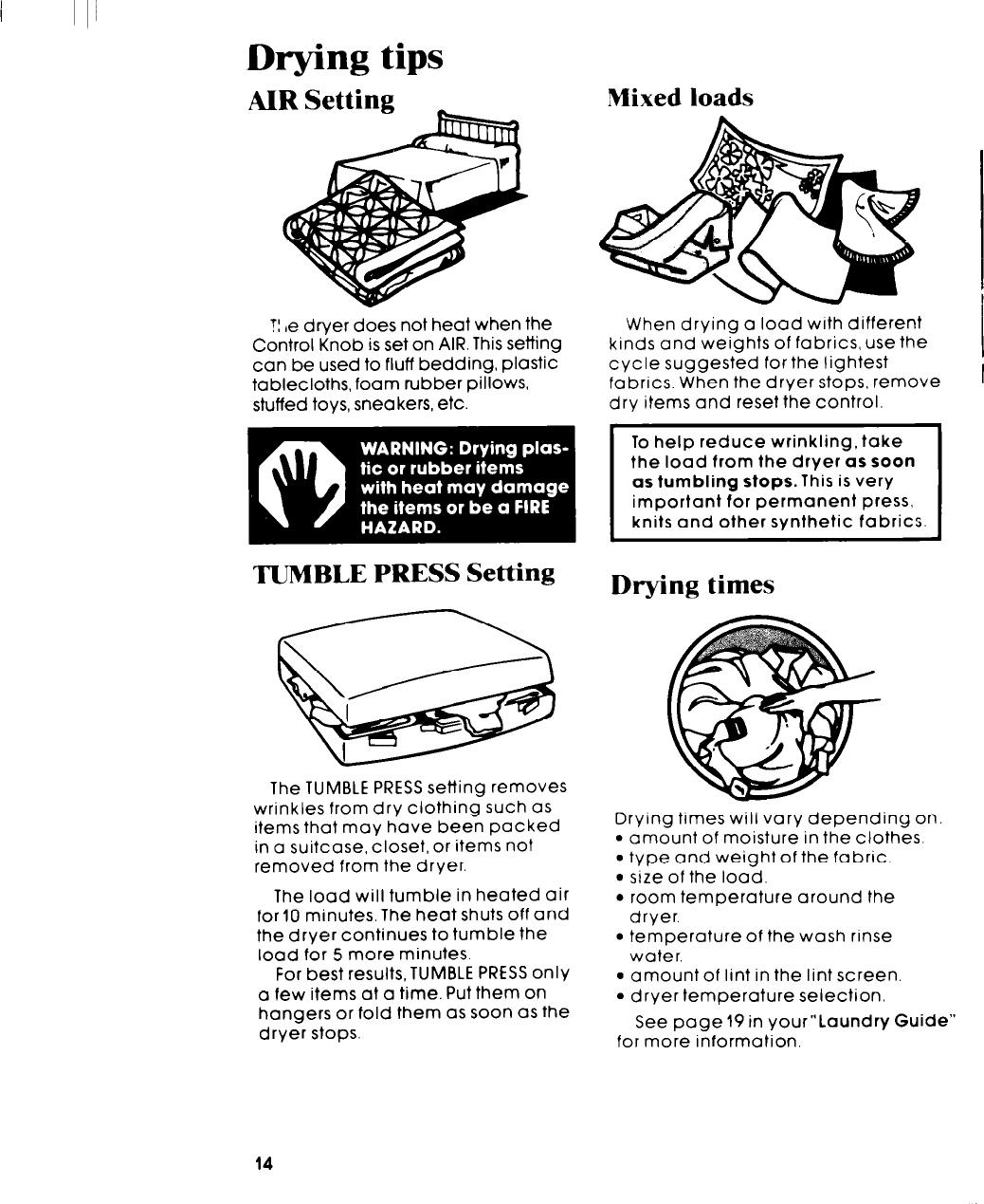 Whirlpool Lt5005Xm Users Manual