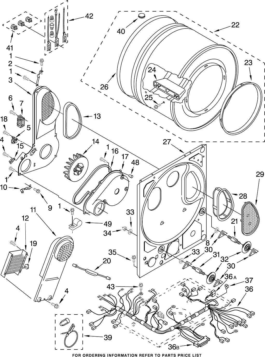 dryer bulkhead parts